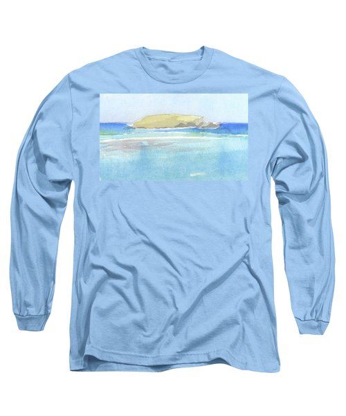La Tortue, St Barthelemy, 1996_0046 60x35 Cm Long Sleeve T-Shirt