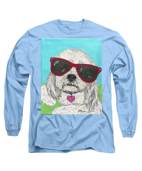 Laci With Shades Long Sleeve T-Shirt