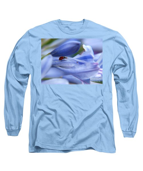 Long Sleeve T-Shirt featuring the photograph Lady Bug by Trena Mara