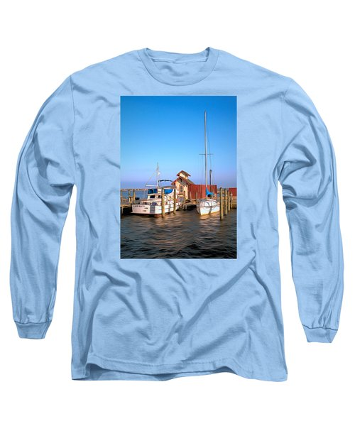 Long Sleeve T-Shirt featuring the photograph Laid Back by Marion Johnson