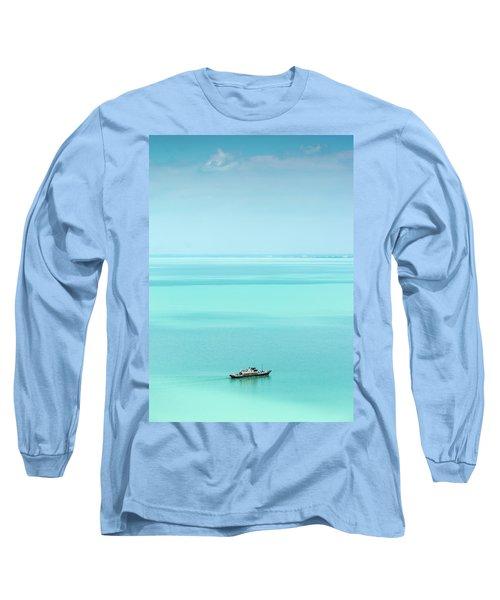 Lake Balaton Long Sleeve T-Shirt by Steven Richman