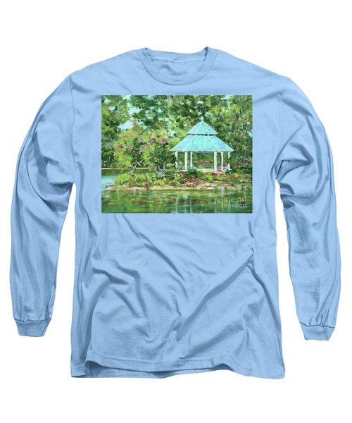 Lake Ella Gazebo Long Sleeve T-Shirt