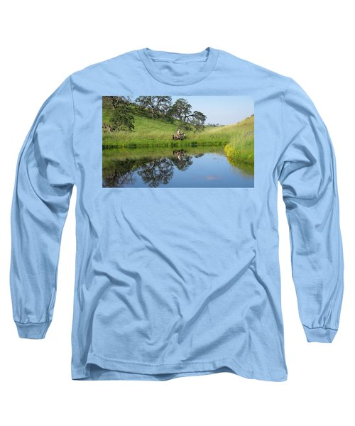 Lake Front Property Long Sleeve T-Shirt