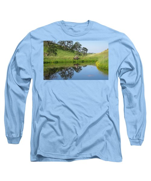 Lake Front Property Long Sleeve T-Shirt