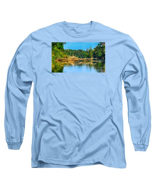 Lake In A Jungle Long Sleeve T-Shirt