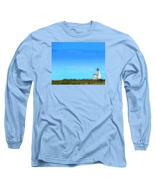 Lake Michigan Lighthouse Long Sleeve T-Shirt