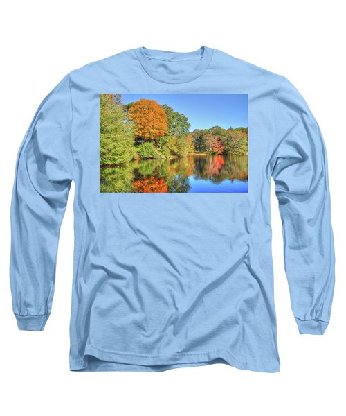 Lake Noquochoke, Dartmouth, Ma Long Sleeve T-Shirt