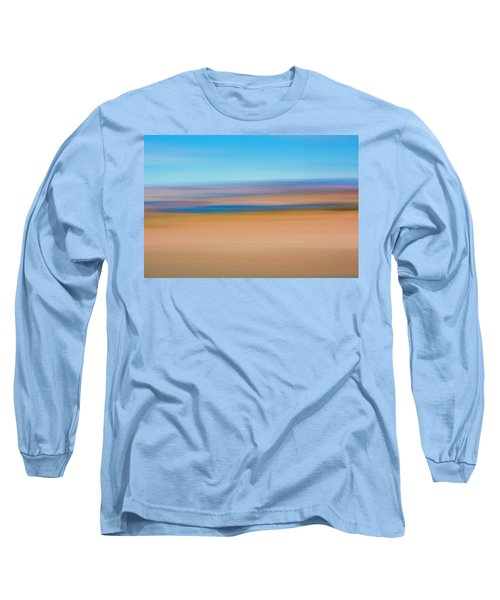 Long Sleeve T-Shirt featuring the mixed media Lake Powell by Shara Weber