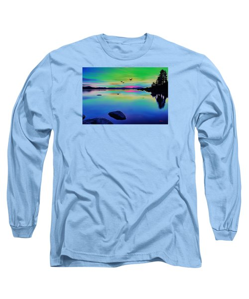 Lake Reflections 2 Long Sleeve T-Shirt