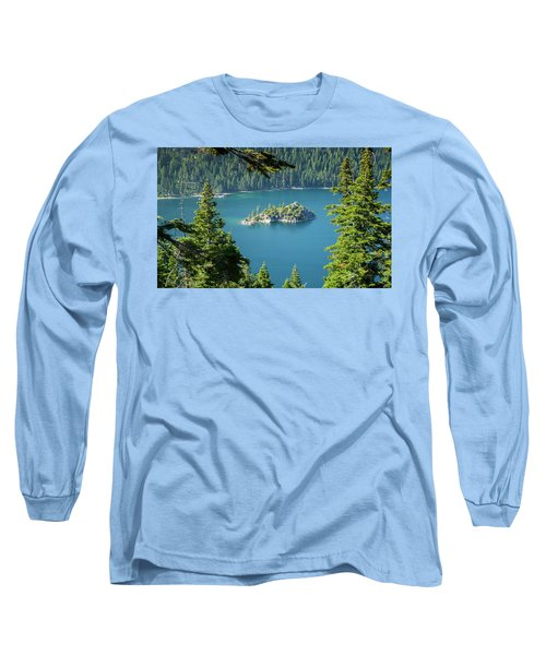 Lake Tahoe Long Sleeve T-Shirt by RC Pics