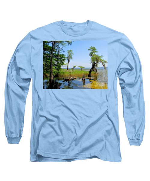 Lake Waccamaw Nc Long Sleeve T-Shirt