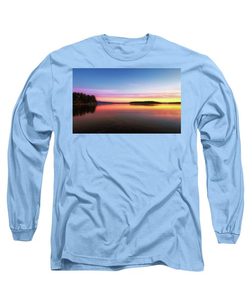 Lake Winnipesaukee Reflections Long Sleeve T-Shirt