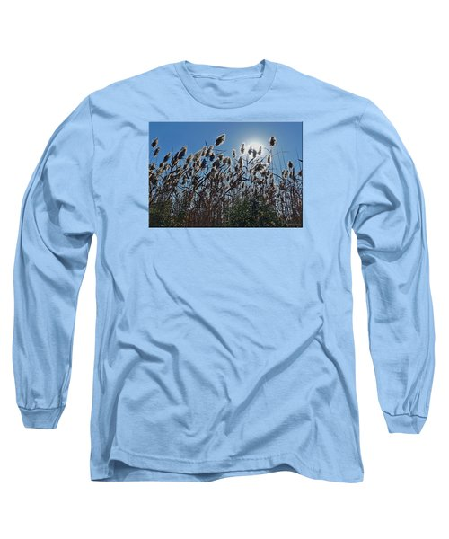 Lakeside Plants Long Sleeve T-Shirt by Mikki Cucuzzo