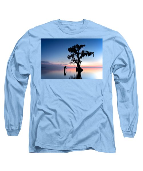 Long Sleeve T-Shirt featuring the photograph Landscape Backstage by Evgeny Vasenev