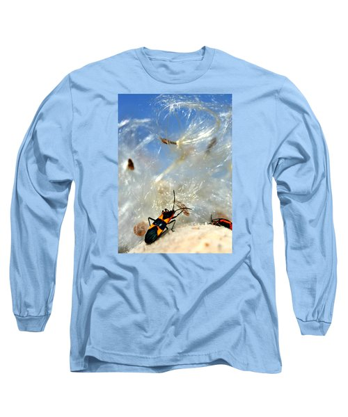 Large Milkweed Bug Long Sleeve T-Shirt