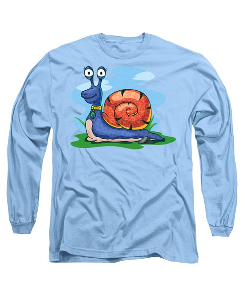 Larry The Snail Long Sleeve T-Shirt