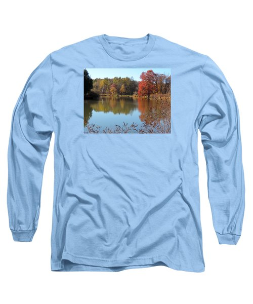 Last Colors Of Fall Long Sleeve T-Shirt by Teresa Schomig
