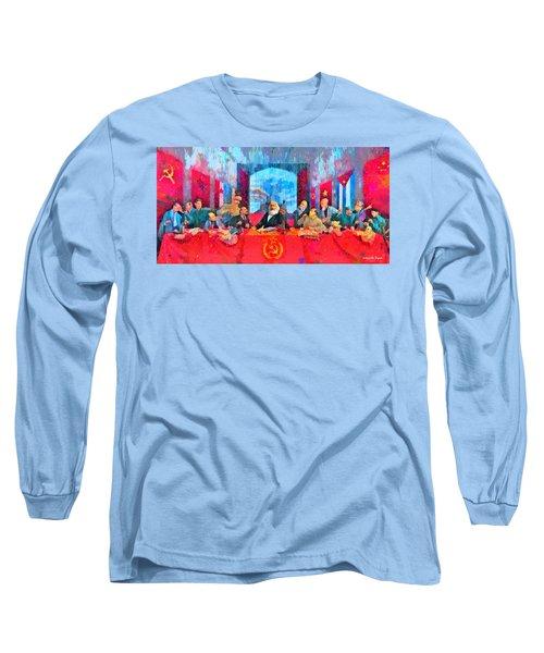 Last Communist Supper 10 Colorful - Da Long Sleeve T-Shirt