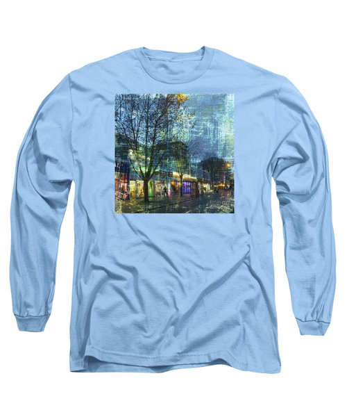 Late Afternoon In Autumn Long Sleeve T-Shirt by LemonArt Photography