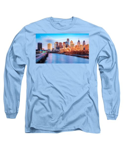 Late Afternoon In Philadelphia Long Sleeve T-Shirt
