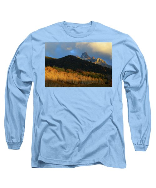 Late Afternoon Light On The San Juans Long Sleeve T-Shirt by Jetson Nguyen
