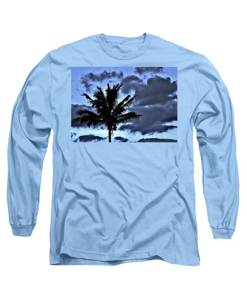 Late Day Palm Long Sleeve T-Shirt