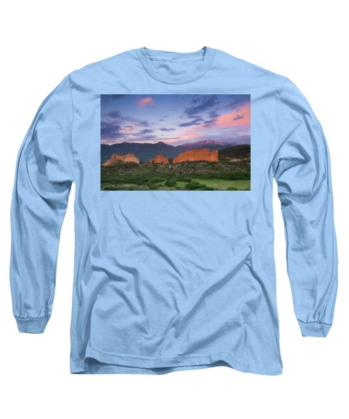 Late Spring Sunrise Long Sleeve T-Shirt by Tim Reaves
