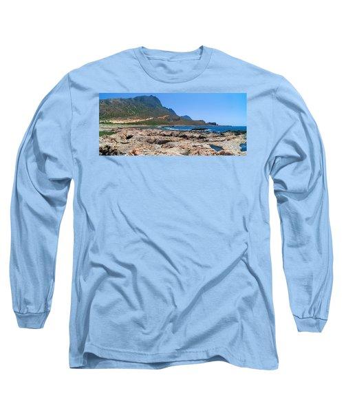 Lava Rocks Of Balos Long Sleeve T-Shirt