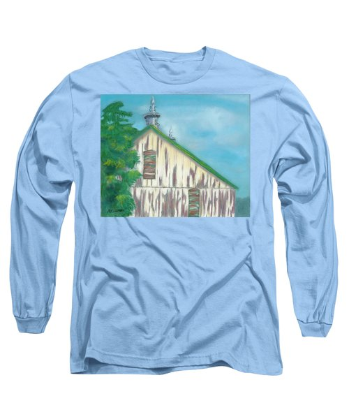 Layers Of Years Gone By Long Sleeve T-Shirt by Arlene Crafton