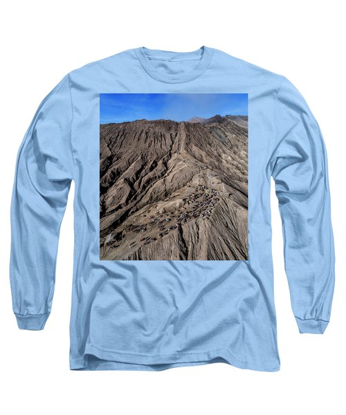 Leading To The Volcano Crater Long Sleeve T-Shirt