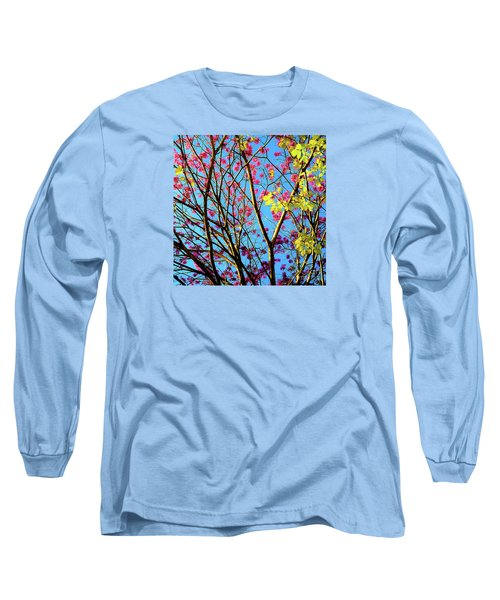 Leaves And Trees 980 Long Sleeve T-Shirt
