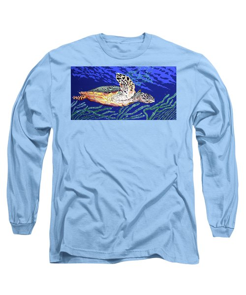 Life In The Slow Lane Long Sleeve T-Shirt by Debbie Chamberlin