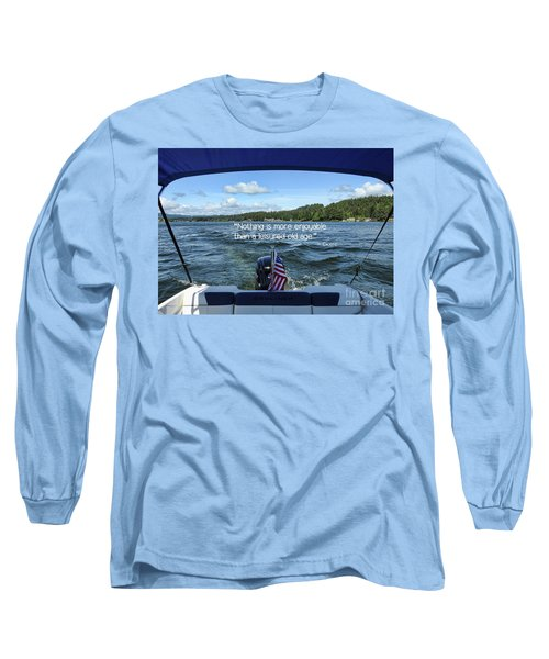 Long Sleeve T-Shirt featuring the photograph Life Of Leisure by Peggy Hughes