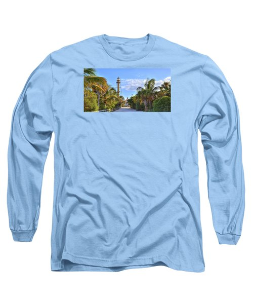 Light At The End Of The Road Long Sleeve T-Shirt by Sean Allen