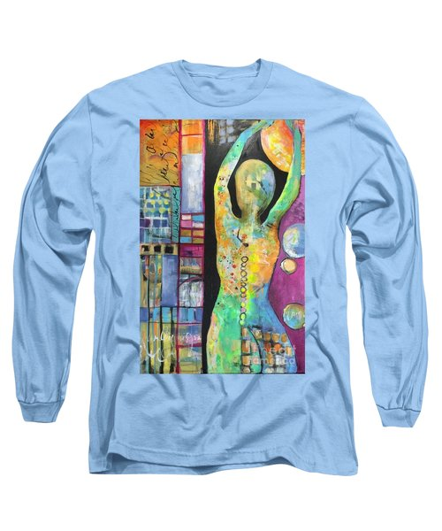Light Energy Long Sleeve T-Shirt by Karin Husty