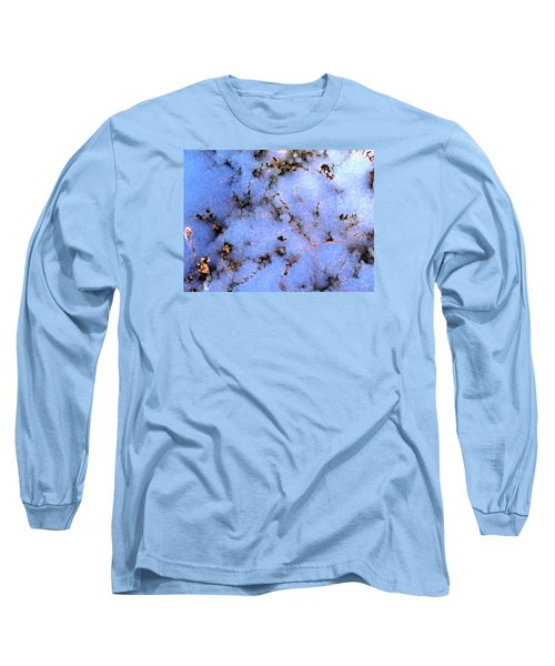Light Snow In The Woods Long Sleeve T-Shirt