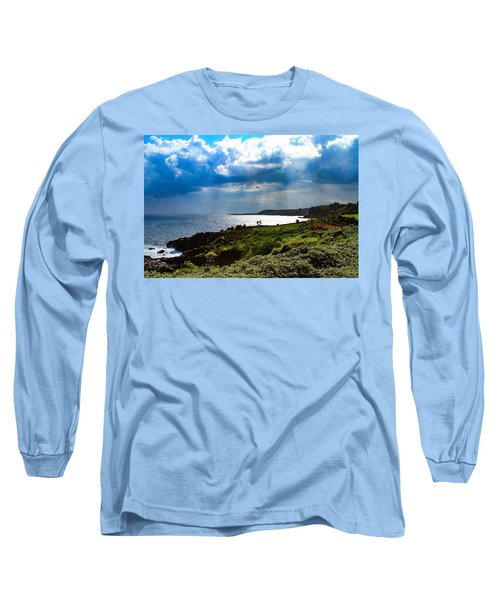 Light Streams On Kauai Long Sleeve T-Shirt