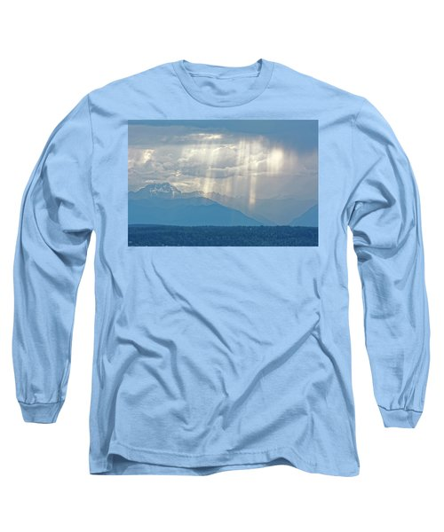 Light Through Clouds Long Sleeve T-Shirt