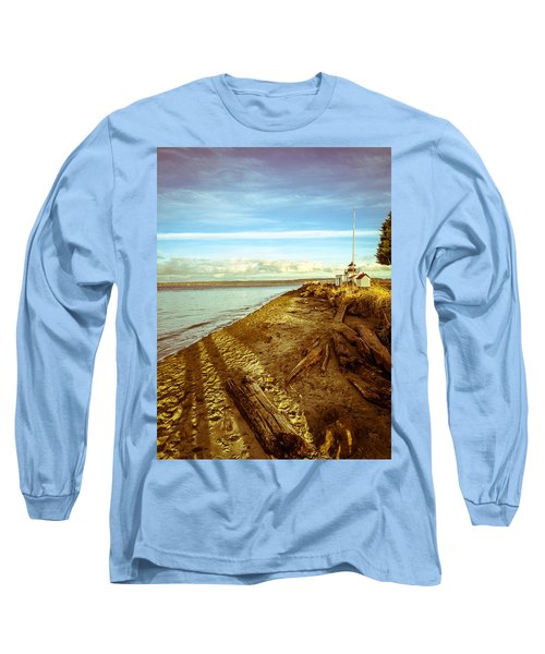 Lighthouse, Point No Point Long Sleeve T-Shirt