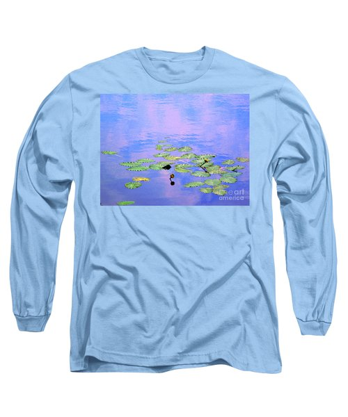 Laying Low Like A Lily Pond  Long Sleeve T-Shirt