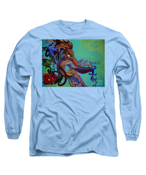 Lion Gargoyle Long Sleeve T-Shirt