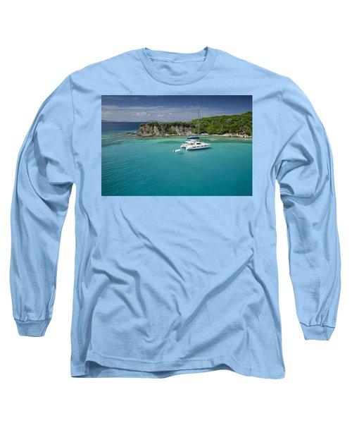 Little Harbor, Peter Island Long Sleeve T-Shirt