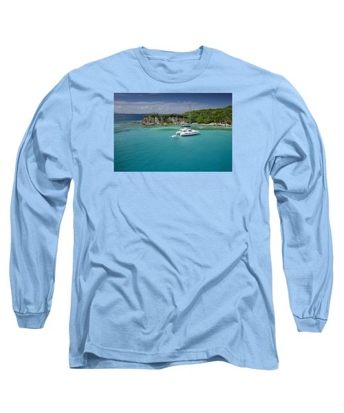 Little Harbor, Peter Island Long Sleeve T-Shirt