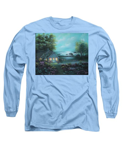 Little House By The Sea Long Sleeve T-Shirt