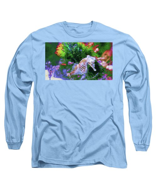 Little Sea Horse Long Sleeve T-Shirt