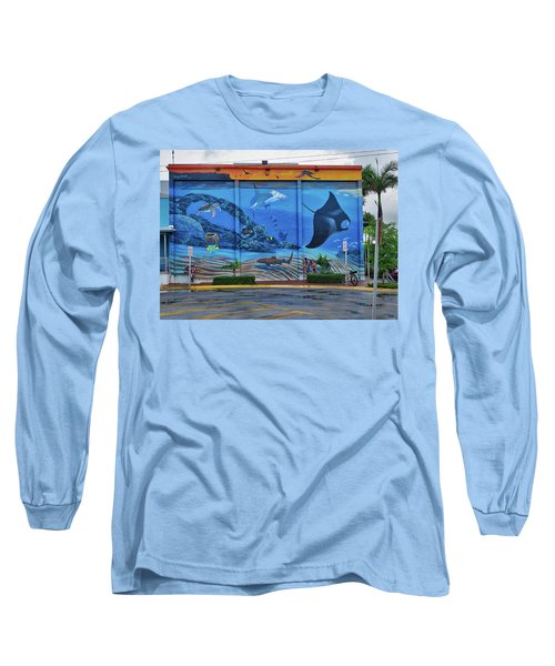 Living Reef Mural Long Sleeve T-Shirt