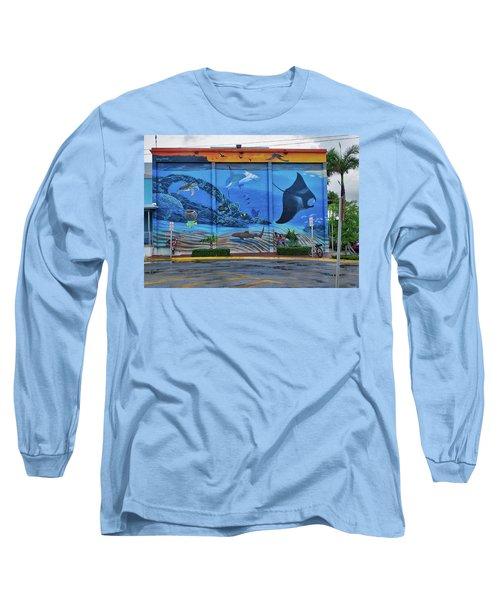 Living Reef Mural Long Sleeve T-Shirt