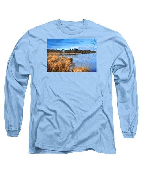 Llyn Llech Owain Country Park 1 Long Sleeve T-Shirt