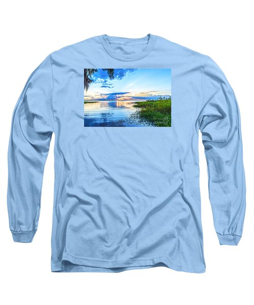Lochloosa Lake Long Sleeve T-Shirt by Anthony Baatz