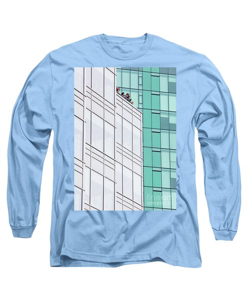 Long Sleeve T-Shirt featuring the photograph Lofty View by Chris Dutton